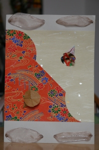 origami greeting card